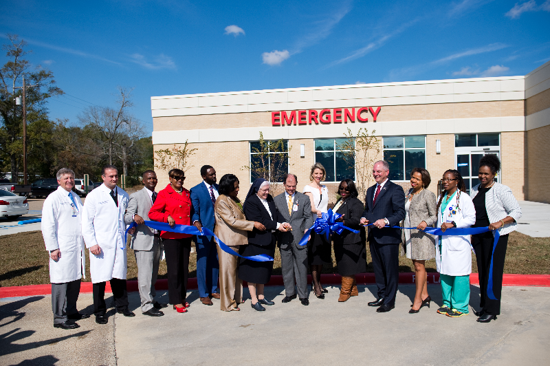 Our Lady Of The Lake Baton Rouge >> Our Lady Of The Lake Opens Emergency Room In North Baton